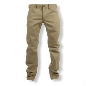 Woolrich Men's Khaki Coloured Jeans